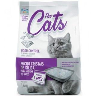 Areia Sanitária The Cats Micro Cristais De Sílica Para Gatos