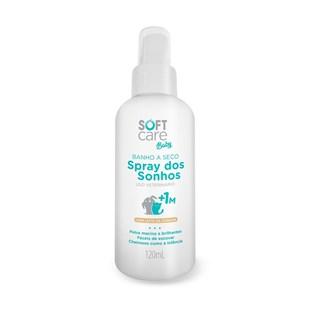 Banho a Seco Soft Care Baby Spray Dos Sonhos Para Cães e Gatos Filhotes