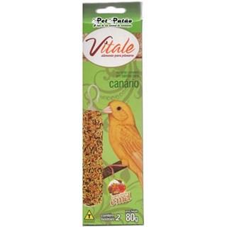 Bastão De Sementes Vitale Canário Para Aves