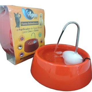 Bebedouro Automático Amicus Bivolt Aqua Mini Para Cães e Gatos