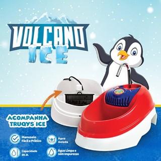 Bebedouro Fonte Elétrica Truqys Pets Volcano Ice para Cães e Gatos