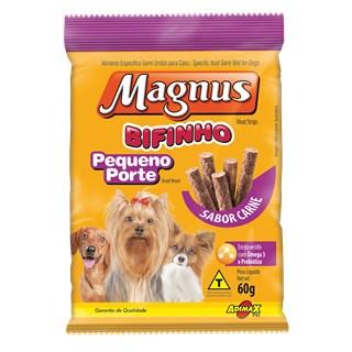 Bifinho Magnus Cães Adultos De Raças Pequenas Sabor Carne