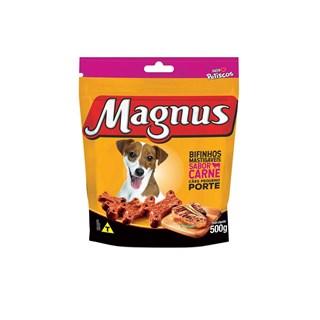 Bifinhos Mastigáveis Magnus Nós Petiscos Carne para Cães Raças Pequenas