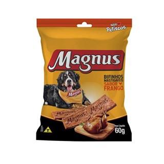Bifinhos Mastigáveis Magnus Nós Petiscos Frango para Cães