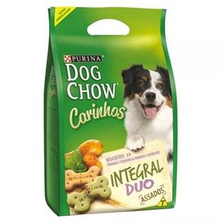 Biscoito Dog Chow Carinhos Integral Duo Para Cães De Raças Médias e Grandes