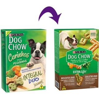 Biscoito Dog Chow Carinhos Integral Duo Para Cães De Raças Pequenas