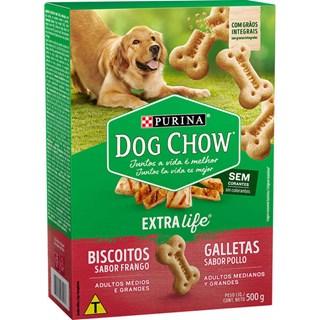 BISCOITO DOG CHOW PURINA CARINHOS INTEGRAL MAXI - 1KG