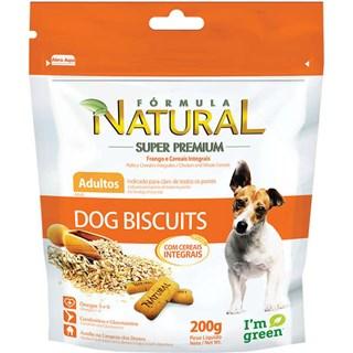 Biscoito Fórmula Natural Dog Biscuit para Cães Adultos - 200 g