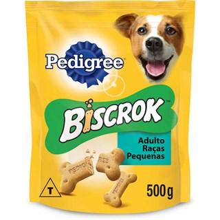 Biscoito Pedigree Biscrok Para Cães De Raças Pequenas