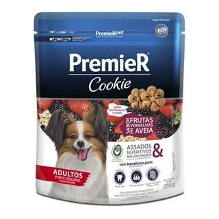 Produto Biscoito Premier Pet Cookie Frutas Vermelhas e Aveia para Cães Adultos
