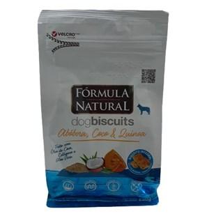 Biscoitos Fórmula Natural Dog Biscuits para Cães de Adultos de Mini e Pequeno Porte Sabor Abóbora 250g