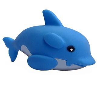 Brinquedo Chalesco Golfinho Azul De Vinil Para Cães