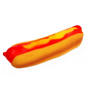 Brinquedo Chalesco Hot Dog De Vinil Para Cães