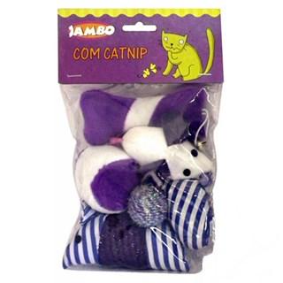 Brinquedo Com Catnip Jambo Para Gatos
