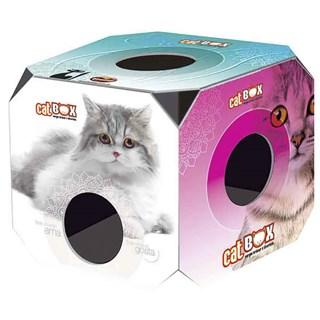 BRINQUEDO FURACãO PET CAT BOX PARA GATOS