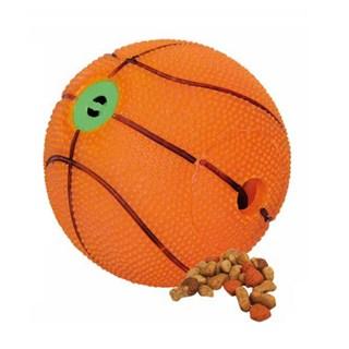 Brinquedo Jolitex Homepet Bola de Basquete Sonora 10.5cm para Cães