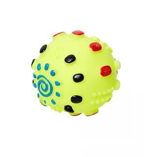 Brinquedo Jolitex Homepet Bola De Vinil Amarela Para Cães