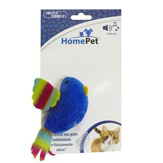 Brinquedo Jolitex Homepet Passarinho Com Som Para Gatos