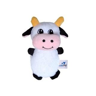 Brinquedo Jolitex Homepet Vaquinha de Pelúcia para Cães
