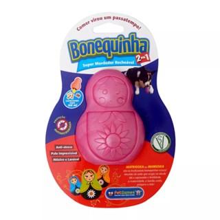 Brinquedo Mordedor Pet Games Bonequinha Para Cães - Tamanho g