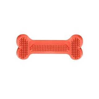Brinquedo Pet Injet Osso Massageador Dental Flex Tamanho Grande Para Cães