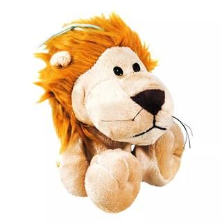 Brinquedo Pet Injet Pelúcia Leão Amarelo Para Cães