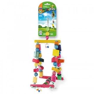 Brinquedo Pet Injethappybird Balanço Gangorra Para Aves