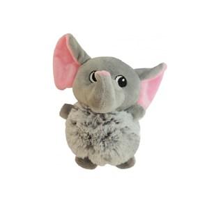 Brinquedo Petcute Pelúcia Elefante Para Cães