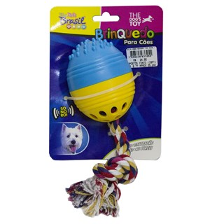 Brinquedo The Pets Brasil The Dogs Toy Bola Massageadora Sonora Para Cães