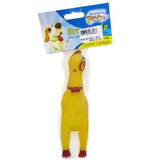 Brinquedo Western Pet Frango Roco Para Cães