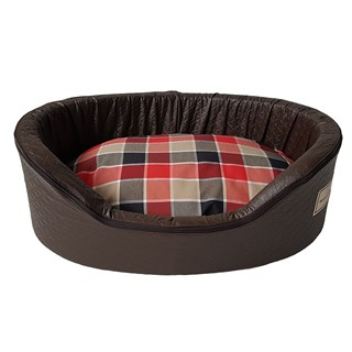 Cama Pickorruchos New Sleepy Brown Marrom Para Cães