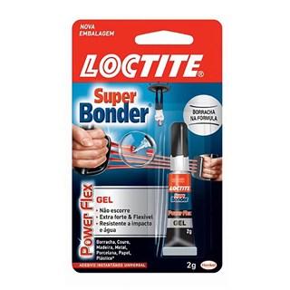 Cola Loctite Super Bonder Power Flex 2g