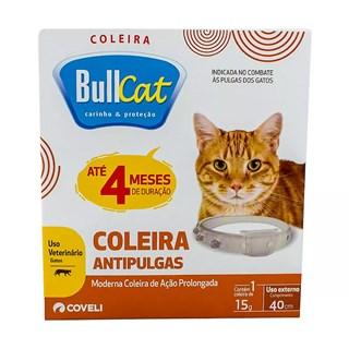 Coleira Antipulgas Coveli Bullcat Para Gatos