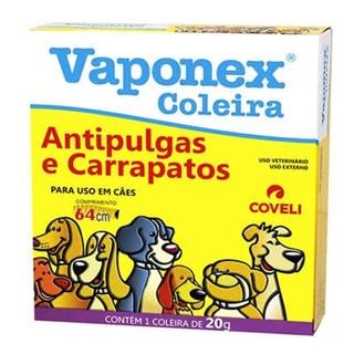 Coleira Antipulgas Coveli Vaponex Para Cães