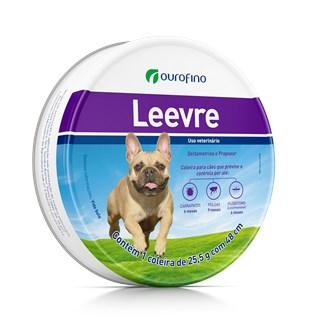 Coleira Antipulgas e Carrapatos Ourofino Leevre Para Cães De Raças Pequenas e Médias