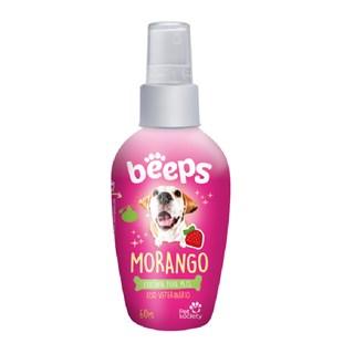Colônia Pet Society Beeps Morango para Cães