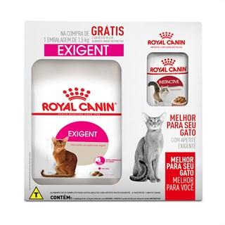 Combo Ração Royal Canin Exigent Para Gatos Adultos