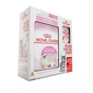 Combo Ração Royal Canin Feline Health Nutrition Kitten Para Gatos Filhotes