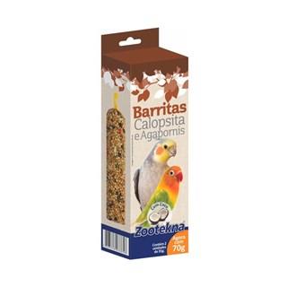 Complemento Alimentar Zootekna Barritas Com Coco Para Calopsitas e Agapornis