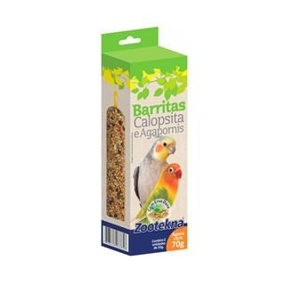 Complemento Alimentar Zootekna Barritas Com Erva Doce Para Calopsitas e Agapornis