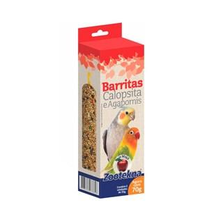 Complemento Alimentar Zootekna Barritas Com Maçã Para Calopsitas e Agapornis