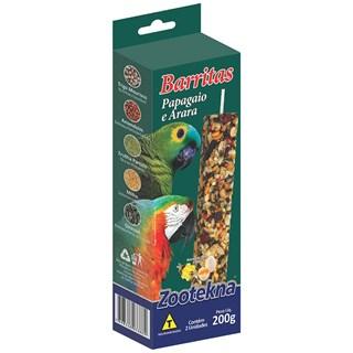 Complemento Alimentar Zootekna Barritas Para Papagaios e Araras