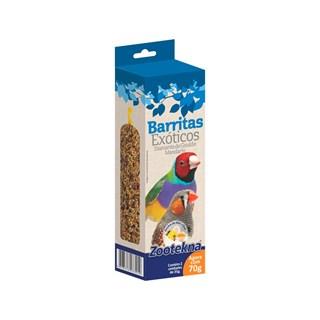 Complemento Alimentar Zootekna Barritas Para Pássaros Exóticos