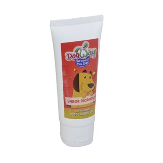 CREME DENTAL PLAST PET CARE MORANGO PARA CãES E GATOS