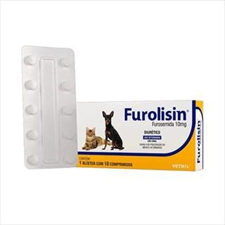 Diurético Vetnil Furolisin para Cães e Gatos