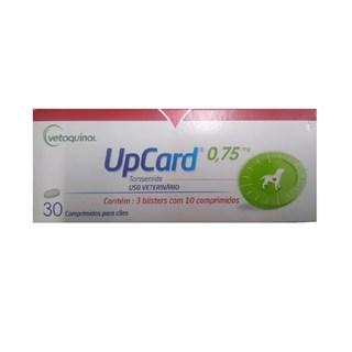 Diurético Vetoquinol UpCard 0.75mg para Cães