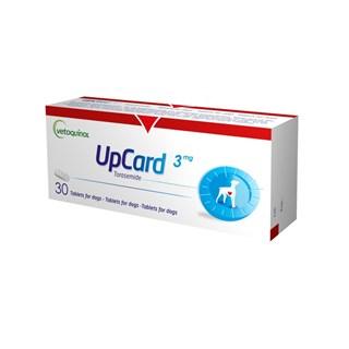 Diurético Vetoquinol UpCard 3mg para Cães