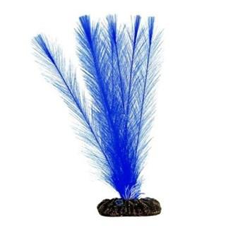 Enfeite Mydor Aquatic Plants Blue Para Aquário