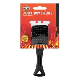 Escova Limpa Grelhas Prime Grill para Grelhas e Churrasqueiras