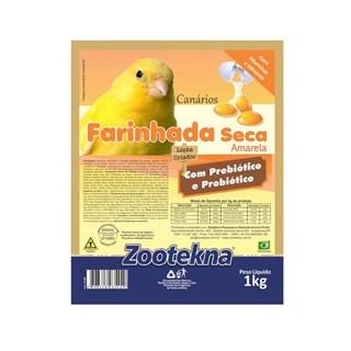 Farinhada Seca Zootekna FSO-50 Amarela para Canários